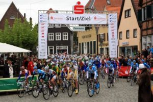 Start zum Münsterland-Giro in Ahlen