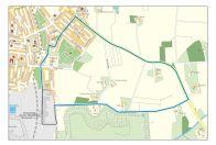 Karte des Rundkurs