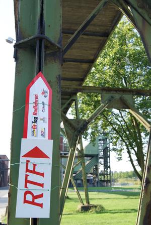 RTF-Beschriftung ab Zeche Westfalen